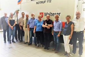 Besuch der Malteser-Rettungswache