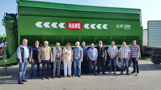 Besuch bei HAWE Wester